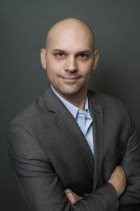 Gary Dumais Headshot Grey Background